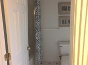 17 2nd Floor Master Bath Shows Separate Room with Tub and Shower