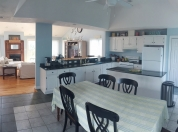 7 3rd Flr Very Large Kitchen with Built-in Bar and Dining Table that Seats 6 (Family Room in Background) 3rd Floor